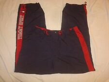 Vintage Tommy Jeans Tommy Sport Spell Out Colorblock Polyester Pants Large