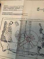 Star Wars AVCO Foodles Millennium Falcon Blueprint Prop Rare Pinewood Production