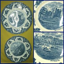 JOHNSON BROS 6 PLATE LOT ~ 3 Plates WINDSOR Castle + 3 Plates BLARNEY Castle