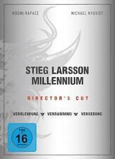 3 DVD Edition Stieg Larsson Millennium Director's Cut Kinofilme 526 Min. DEUTSCH