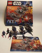Lego Star Wars #7957 Sith Nightspeeder 214 pcs, ages 7-12, 100% complete