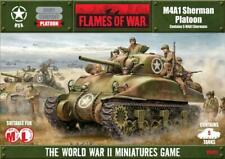 Flames of War USA M4A1 Sherman Platoon UBX02 Battlefront New!