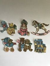 Small Victorian Toys - 6 - Iron-On Fabric Appliques