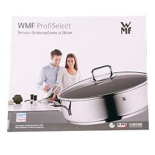 WMF ProfiSelect Servier Schmorpfanne 28 cm mit Glasdeckel 0761306991 - NEU & OVP