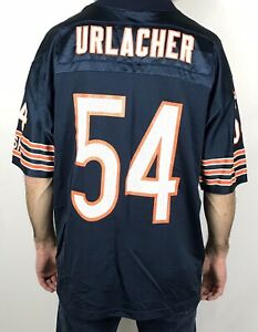Brian Urlacher Chicago Bears Jersey Adidas Mens Large Team Blue NFL Football