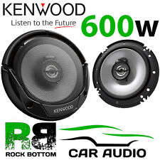 "KENWOOD VW POLO 6N 1994 - 2001 6.5"" 2 Way 600 W Car Front Speakers & Connectors"
