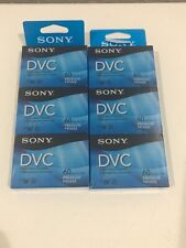 Sony DVC Mini Digital Video Cassette 60 Minutes..2 Pack of three