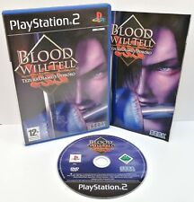 Blood Will Tell ~ Sony Playstation PS2 Black Label ~ PAL *Excellent Complete*