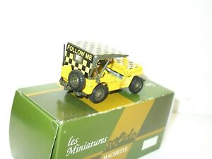 Solido Jeep Willys Aviation Military Follow Me, (Lightbar Taxi Ways)Yellow