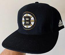 New Adidas NHL Boston BRUINS SNAPBACK Hat Cap  Adjustable Stanley Cup Playoffs