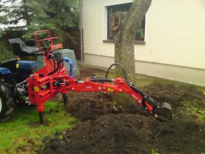 Heckbagger Bagger Anbaubagger R.E.T. 115 Traktoranbau Traktor Kompaktschlepper