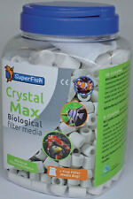 Superfish Crystal MAX 2000ml ANELLI IN CERAMICA BIO Materiali Filtranti Acquario Fish Tank