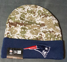 NFL New England Patriots New Era Digital Camo Knit Beanie Hat Football Hunting