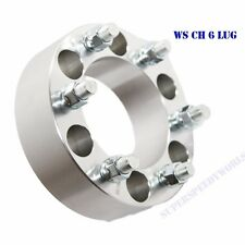 """1 PIECE Wheel Spacer 53MM 2"""" for 88-00 Chevy C2500 K2500 6LUG 6X5.5 6X5.5"""