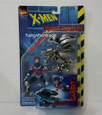Toy Biz Marvel Comics X-men 1997 Gambit Robot Fighters Attack Drone with Missile