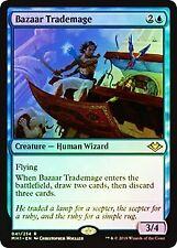 Bazaar Trademage FOIL Modern Horizons NM Blue Rare MAGIC MTG CARD ABUGames