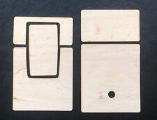 Polaroid sx-70 slr-680 belederung bois Skins FOR SX 70 & SLR 680
