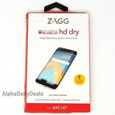 ZAGG Invisible Shield HD Dry Glass Screen Protector HTC 10 / One M10
