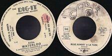 DISCO 45 GIRI        LE ORME / ABBA - BLUE RONDO' A LA TURK // WATERLOO