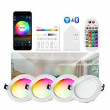 LED Einbaustrahler 5W 9W Bluetooth WIFI RGB Einbauleuchten Decken Spot Dimmbar