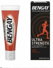 Ultra Strength Bengay Pain Relief Cream, 4 OZ UK Seller free p&p 04/2021 ex date