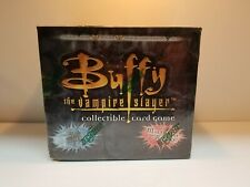 Buffy The Vampire Slayer Pergamum Prophecy CCG Starter Deck Card Box BLACK BOX