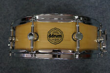 """DDrum Paladin Maple Snaredrum in """"Natural Gloss""""  -  14x5"""""""