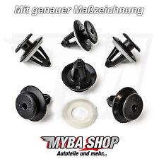 10x Verkleidung Befestigungs Clips + Dichtung Audi BMW Ford Seat VW | 703867299