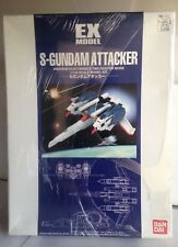Bandai Ex Model S-Gundam Attacker 1/144 Anaheim Electronics Tms Fighter Mode Usa