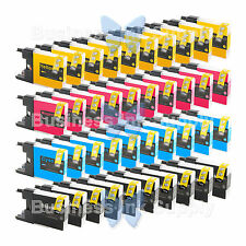 40 PACK LC71 LC75 Compatible Ink Cartirdge for BROTHER Printer MFC-J435W LC75