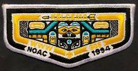 MERGED KELCEMA OA LODGE 305 325 338 BSA EVERGREEN AREA COUNCIL CA NOAC 1994 FLAP