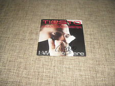 TIESTO - I WILL BE HERE - AUTOGRAPHED HAND SIGNED PROMO   A TOWN CALLED PARADISE