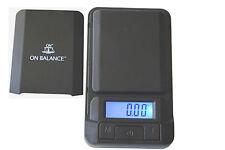 On Balance  Mini Pocket Digital Scale 0.01G 100G  Gold, Jewellery,Herb Scales