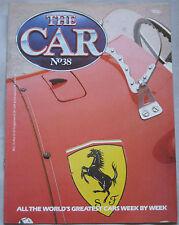THE CAR magazine Issue 38 featuring Maserati 3500GT, Ferrari 500 cutaway