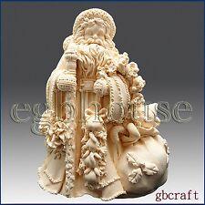 egbhouse, 3D Silicone Soap/Candle Mold - Classic Santa