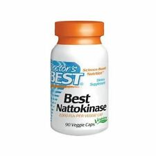 NATTOKINASE :100mg(2000FUs) x 90 Vegicaps, Doctors Best : Circulation