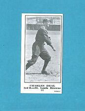 1915 M101-5 The Sporting News Reprint #46 Charles Deal (St. Louis Browns)