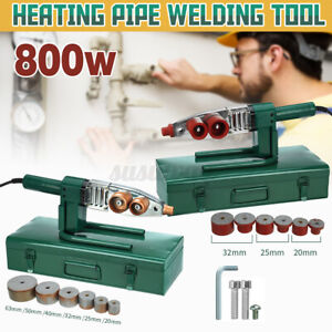 220v Adjust Temp Electric Heating Pipe Welding Tool Machine For PB PPR PE PP