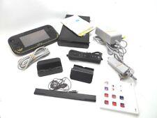 WUP-101(02) Nintendo Wii U 32GB Black Handheld System
