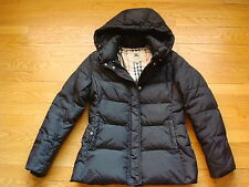 Burberry LONDON Stella Down Filled Puffer Coat with Detachable Hood Size Small
