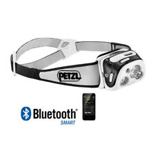 PETZL REACTIK + NEGRO - LINTERNA FRONTAL PROGRAMABLE INTELIGENTE USB RECARGABLE