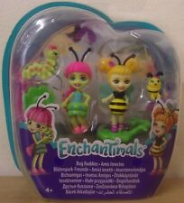 Enchantimals ~ Bug Buddies 2 Pack ~ Cay Caterpillar & Beetrice Bee