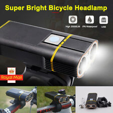 BICYCLE USB Rechargeable Headlamp 6000 Lumens LED Bike Front Light Headlight Hot