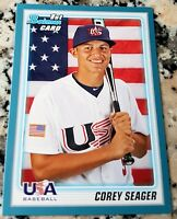 COREY SEAGER 2010 Bowman BLUE #1 Draft SP Rookie Card RC 59/399 LA Dodgers ROY