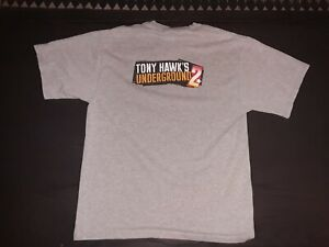 VTG 2004 Tony Hawk's Underground 2 World Destruction Tour Video Game Promo Shirt