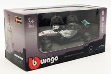 Modellini statici di auto da corsa Formula 1 Burago in plastica per Mercedes