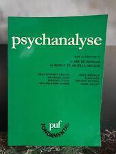 Psychanalyse Alain et Sophie DE MIJOLLA PUF 1996 ARTBOOK by PN