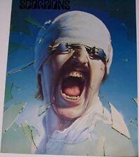SCORPIONS Blackout 1982 Tour book Concert Program Poster SEALED EC