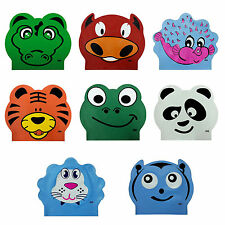CHEX Latex Character Kids Boys Girls Swimming Swim Hat Cap Fish Bee Frog Tiger