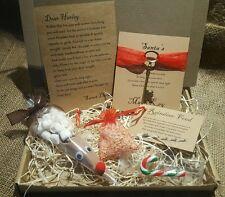 Santa Christmas Eve Box hot chocolate Letter Magic Key